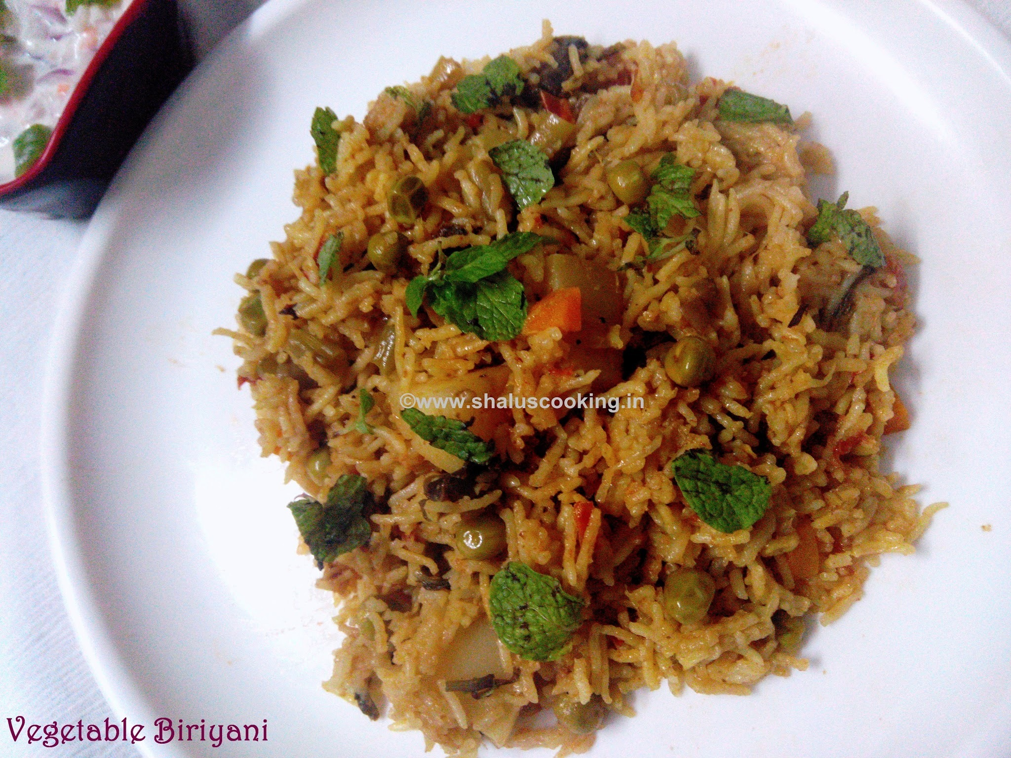 Vegetable Biriyani