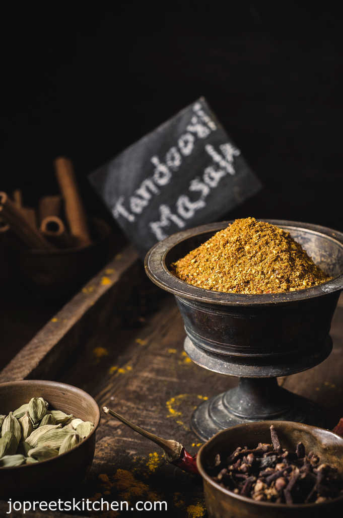 Homemade Tandoori Masala Powder Recipe - Blend of Mixed Indian Spices