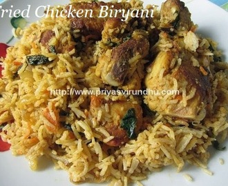 Fried Chicken Biryani
