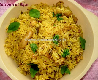 Mutton Fat Rice