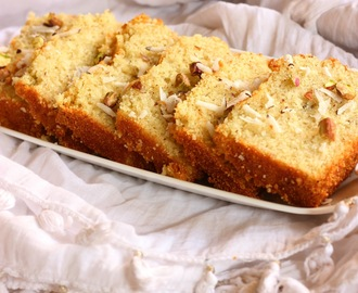 Goan Coconut Baath Cake - Ingredients run and swirl together, amplifying each other's flavor