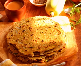 A Fresh Twist on the Boring Bottle gourd/Lauki  ( Bottlegourd  Multigrain Flatbrad - Lauki Ke Thalipeeth )