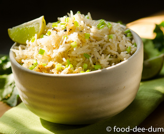 Lemon Garlic & Pepper Rice
