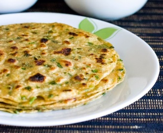Green Garlic Paratha Recipe| Easy Flatbread Recipes