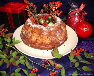 Christmas Plum Cake Recipe / Fruit N Nut Cake Recipe / Christmas Fruit Cake Recipe