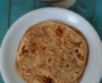 Ghee Chapatti ( Pan -fried Indian Flat Bread) |Ghee Chapathi/Chapati |How to make Ghee Chapatti at home | Stepwise Pictures