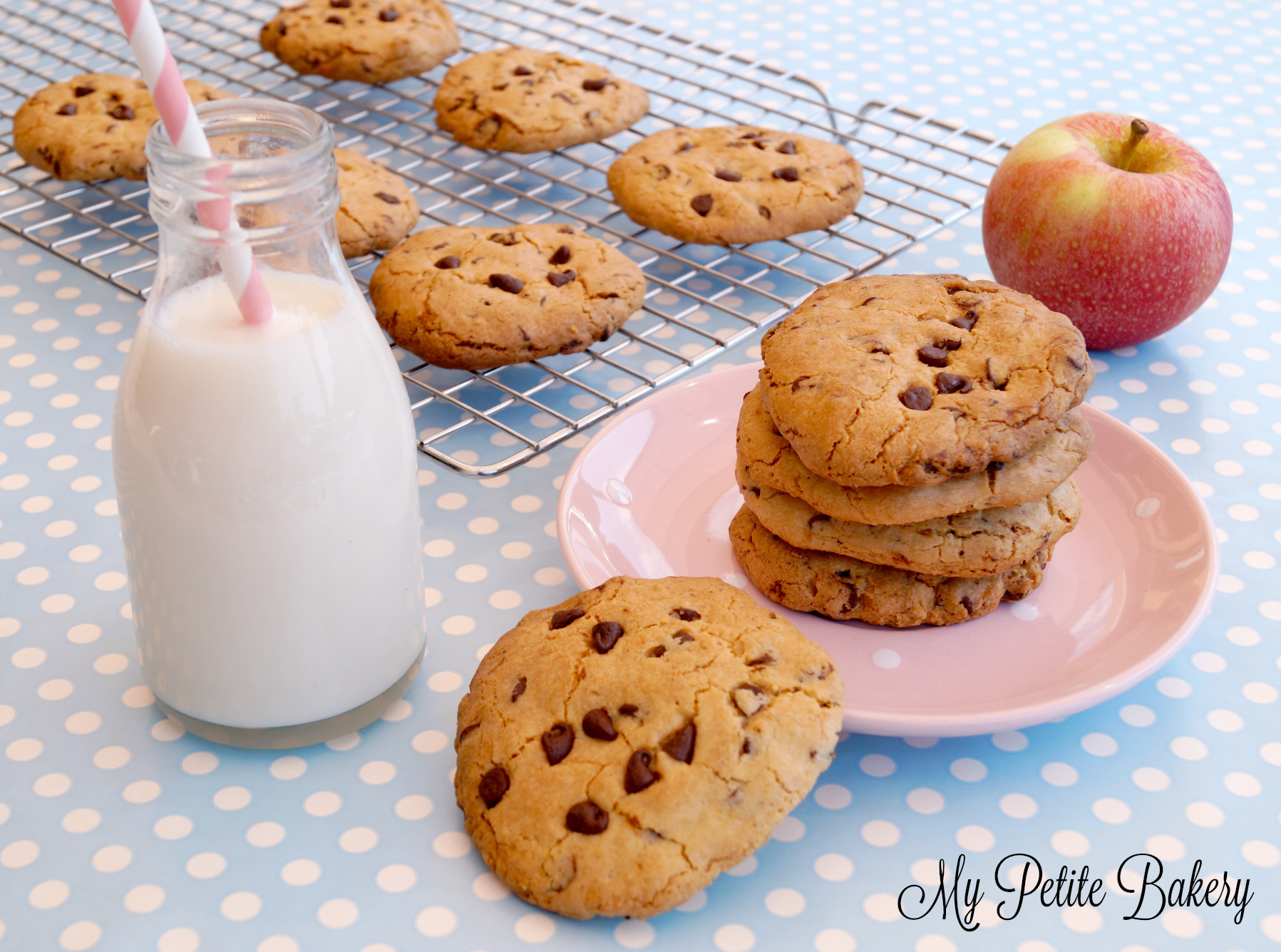 Galletas Chocolate Chip Cookies (La Receta perfecta)