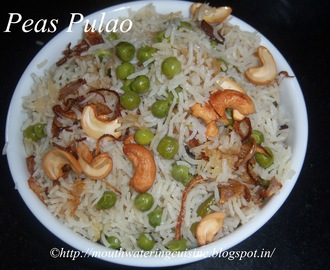 Peas Pulao Recipe -- Matar Pulao Recipe -- How to make Peas Pulao Recipe
