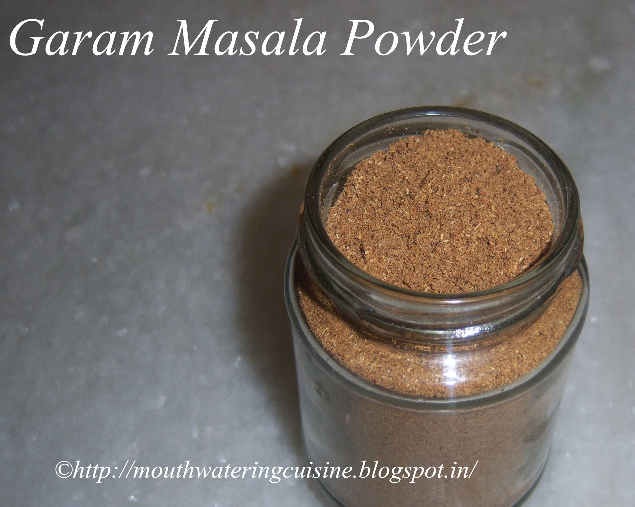 Garam Masala Powder -- How to make Garam Masala  Powder at home -- Home Made Garam Masala Powder