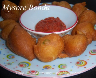 Mysore Bonda Recipe -- How to make Mysore Bonda Recipe