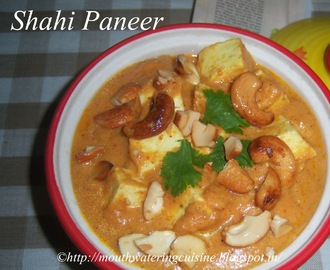 Shahi Paneer Recipe -- How to make Shahi Paneer Recipe