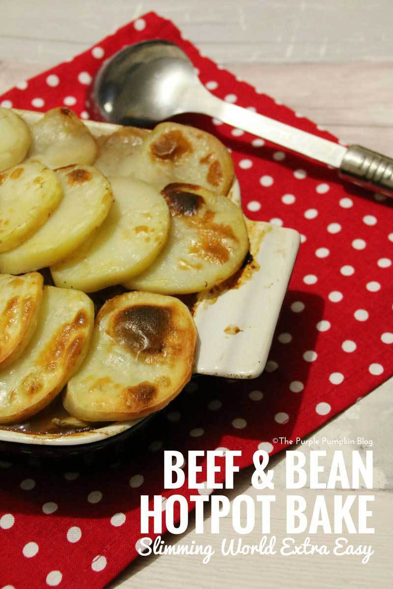 Beef & Bean Hotpot Bake – Slimming World Recipe