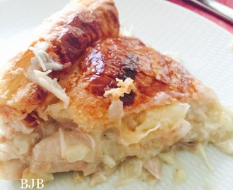 Lemony Chicken pie