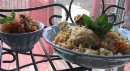 Al Kabsa - Ancient Arabian Chicken and Fragrant Rice