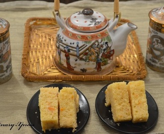 TEA TIME EGGLESS ORANGE CAKE