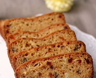 Eggless Fruit & Nut Cake
