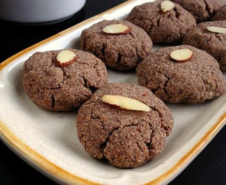 Ragi Almond Cookies | Ragi Biscuits and MERRY CHRISTMAS
