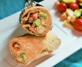 Easy & Best Chicken Shawarma Wrap recipe