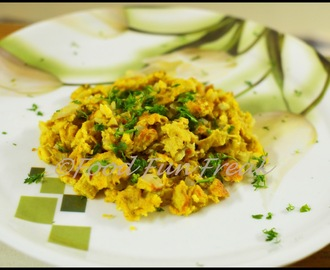 Egg Bhurji/ Indian Style Scrambled Eggs