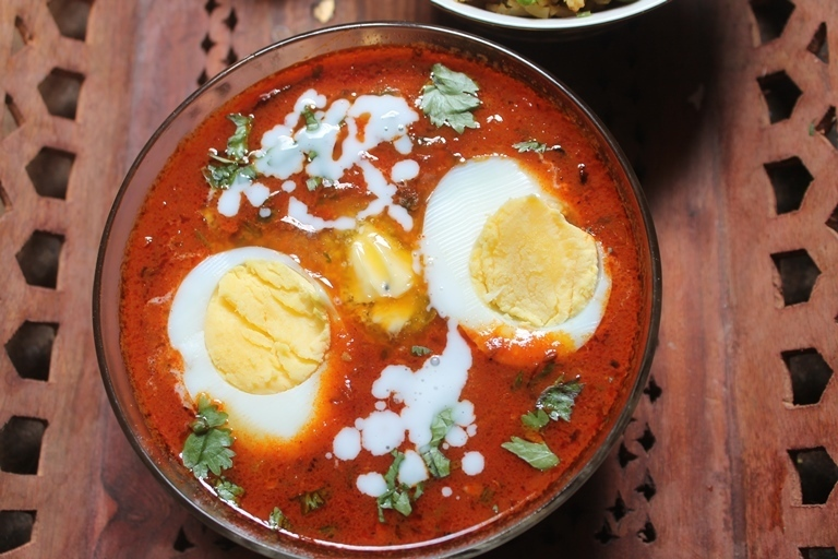 Egg Makhani Recipe - Egg Butter Masala Recipe