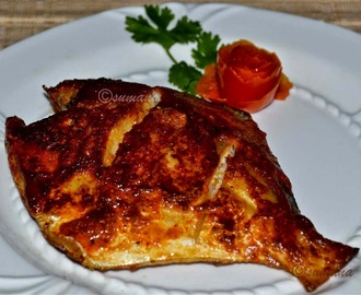 Pan Fried Tandoori Pomfret