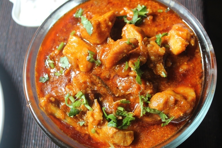 Chicken Gravy Recipe - South Indian Chicken Gravy Recipe