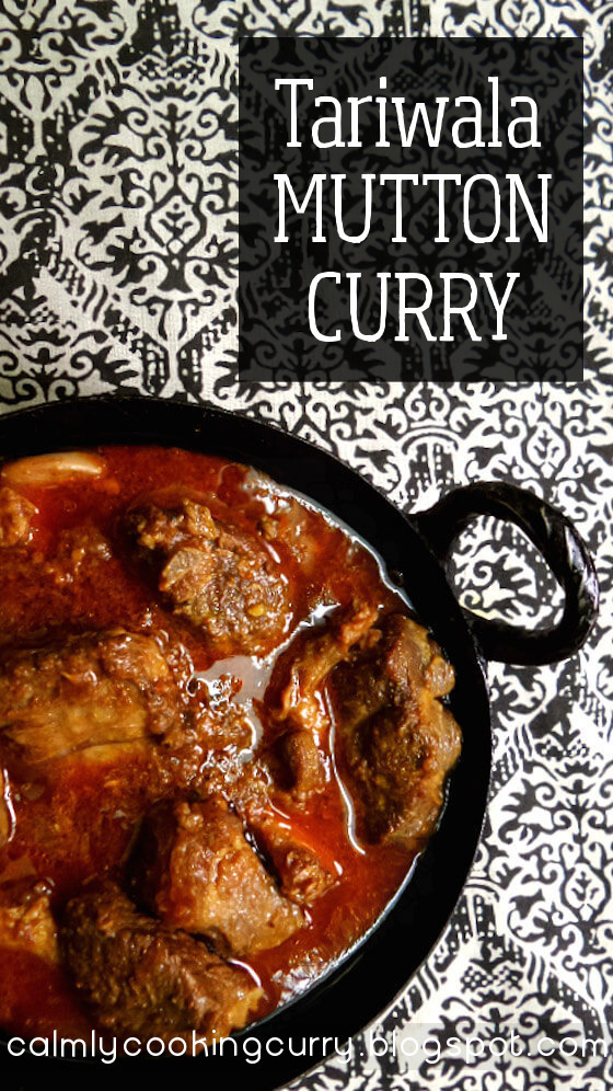 Tariwala Mutton Curry