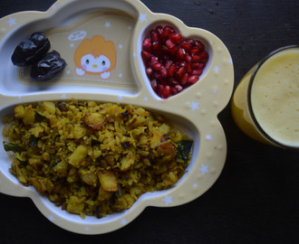 Poha Upma – Kids Breakfast Menu