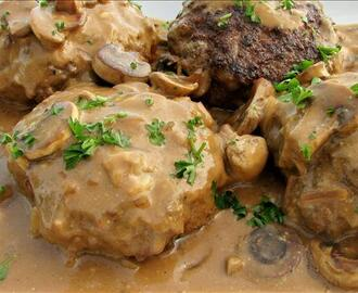Manly-Man Salisbury Steaks
