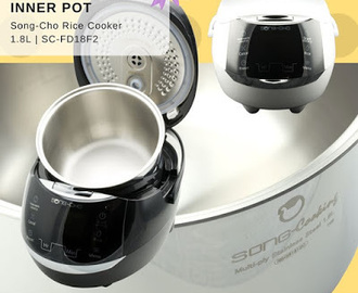 Song Cho Stainless Steel 1.8L Rice Cooker (SC-FD18F2) [Product Review]