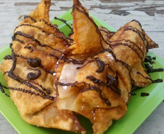 Sweet Potato Wonton Dessert