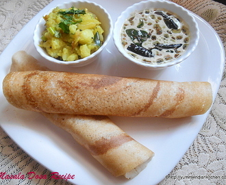 How To Make Masala Dosa Recipe,Breakfast Ideas