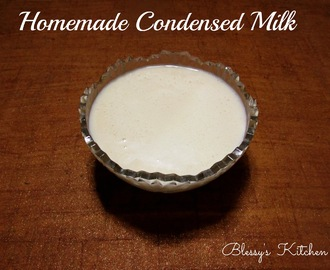 Easy Homemade Condensed Milk