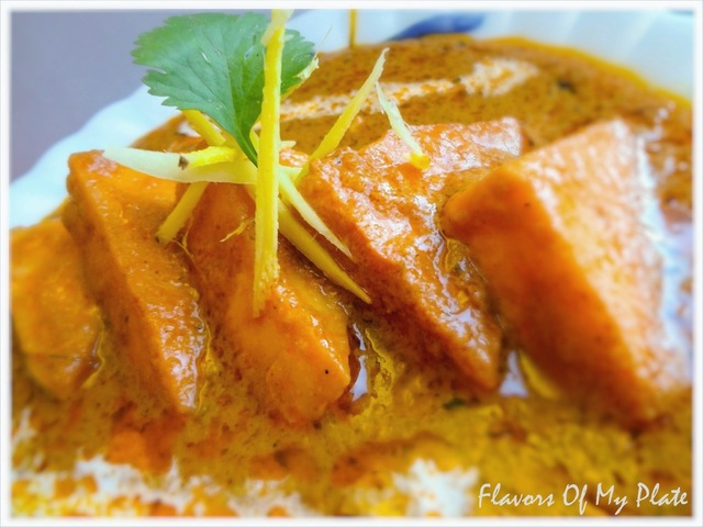 Paneer Butter Masala.....Cottage Cheese in a rich creamy gravy