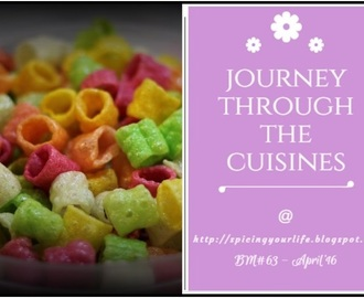 Journey through the Cuisines this April ~ Mega Marathon BM#63