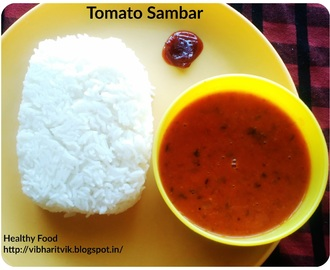 TOMATO SAMBAR / TOMATO SAARU / SIDE DISH FOR RICE