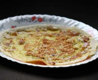 Mutta dosa / Egg dosa recipe / Breakfast recipe