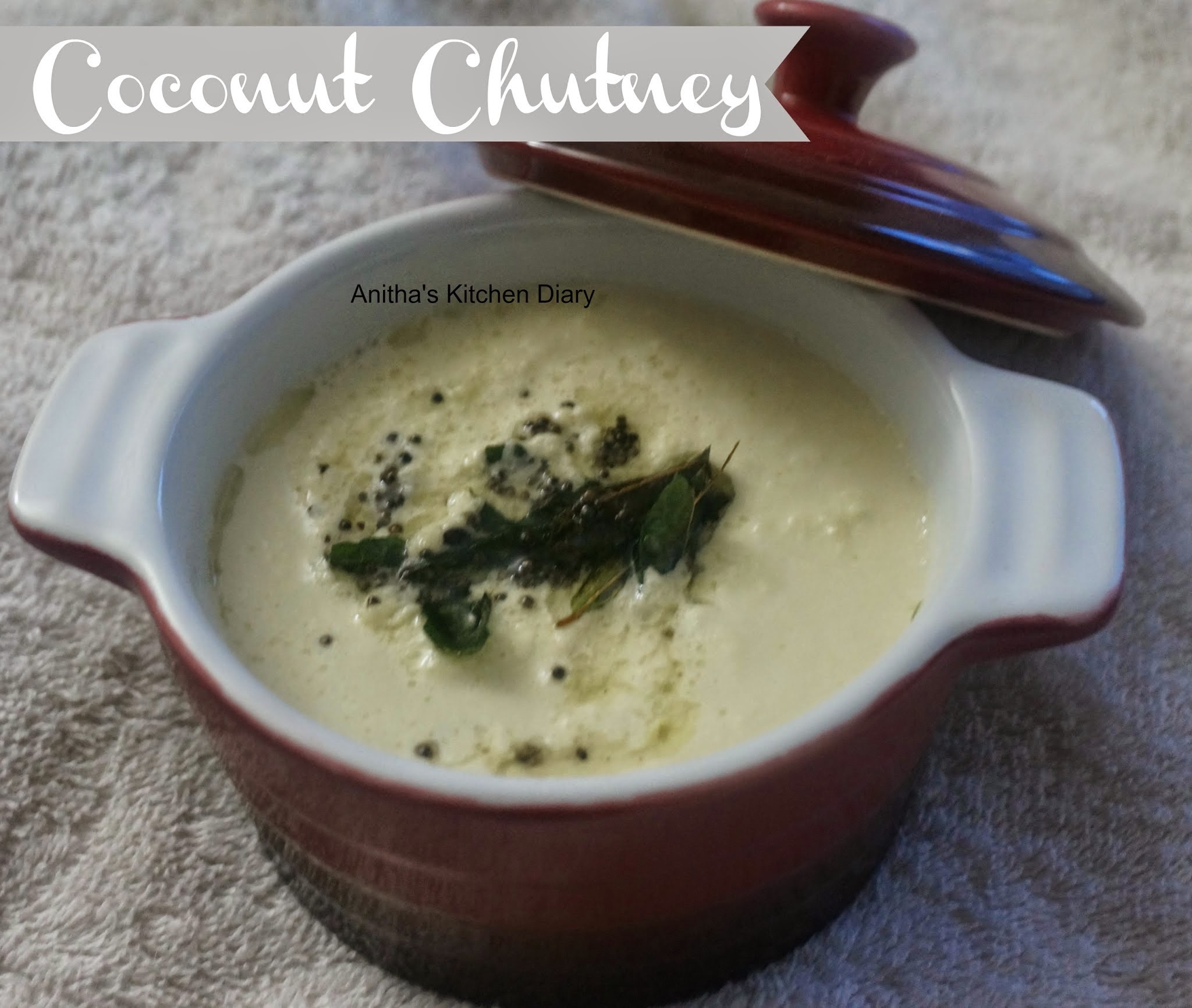 Coconut Chutney | Side dish for idly dosa