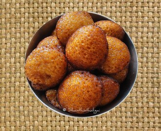 MIXED MILLETS SWEET APPAM / MIXED MILLETS SWEET PANIYARAM / MIXED MILLETS NEIYAPPAM / MIXED MILLETS UNNIYAPPAM