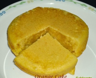 Orange cake recipe / how to make eggless orange cake
