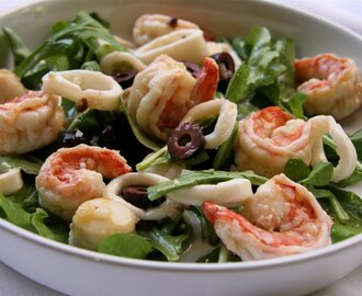 Marinated Seafood Salad