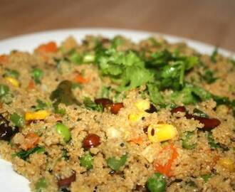 Samba Godhumai Rava Vegetable Upma
