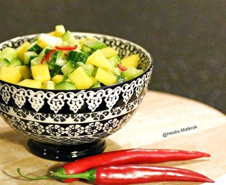 AVOCADO / MANGOSALAT med chili