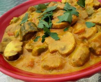 Curried Mushrooms