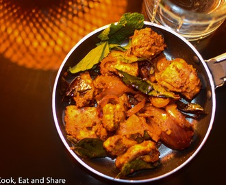 Oil Free Chicken Fry / Kerala Style Chicken Fry / Fennel and Pepper Chicken / Chichen Peri Peri