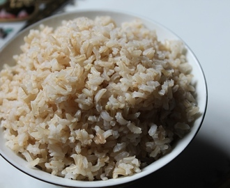 How to Cook Brown Rice - Rice by Draining Method