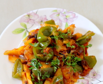 Aloo Capsicum Recipe, How To Make Aloo Shimla Mirch Recipe
