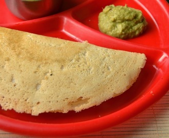 Millet Dosa|Millet Breakfast Recipes