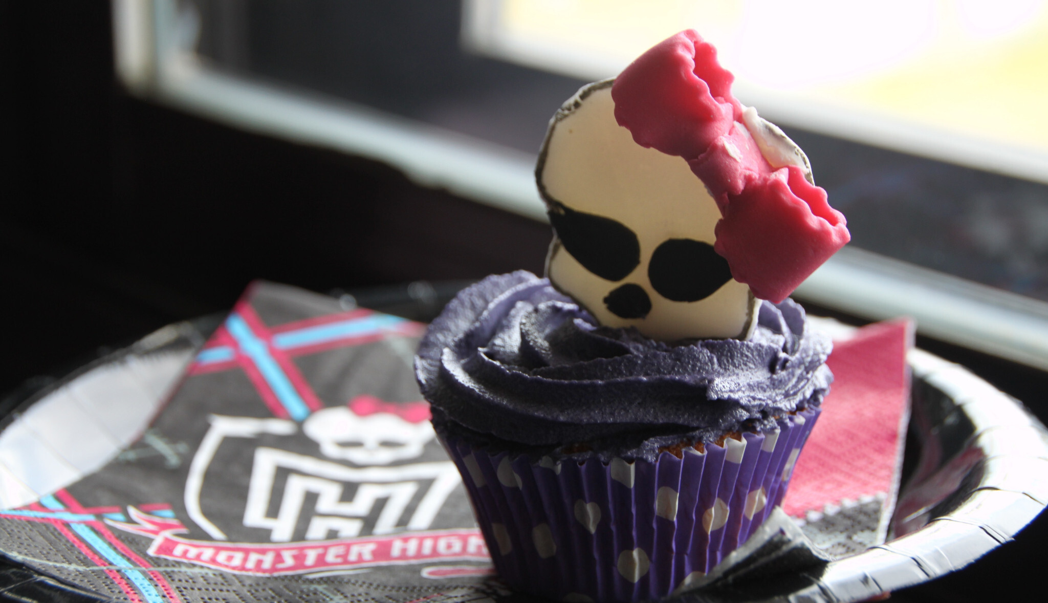 Monster High Cupcakes for Cristina Fashion Day