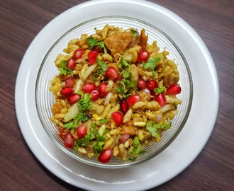 Bhel Puri | Indian street food | Puffed rice
